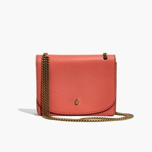 Madewell The Chain Crossbody Bag Spiced Rose